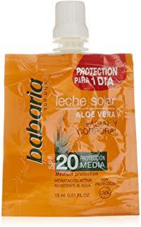 Babaria Aloe Vera Latte Solar SPF 20-15 ml