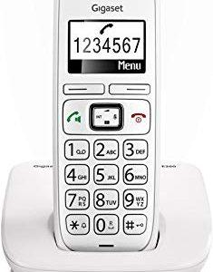 Gigaset E260 Un Telefono Corldess, Tasti Grandi, Numeri sul Display Grandi, Tastiera Illuminata, Suonerie e Audio Potenziato, Bi