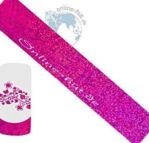 Trasferimento Schermo Pink Glitter iridato