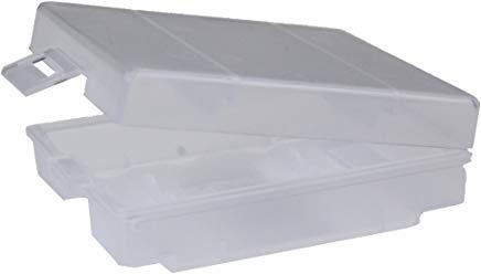 ANSMANN Premium Box per Max. 4 Batterie Mignon AA oppure Micro AAA - Custodia per Protezione e Trasporto - Box