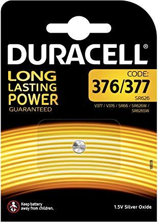 Duracell Batterie Specialistiche 377, Confezione da 1