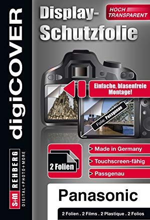 digiCOVER - Pellicola protettiva display per Panasonic DMC-FT20