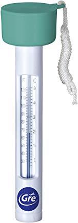Gre 40051 - Termometro Tubolare Galleggiante per Piscina