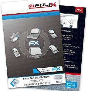 atFoliX FX-Clear Pellicola protettiva per Becker Indianapolis Pro 7950 - Pellicola protettiva trasparente!