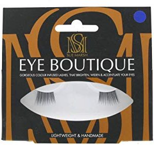 Eye Boutique, Mezze ciglia finte, lunghe, Black Blue