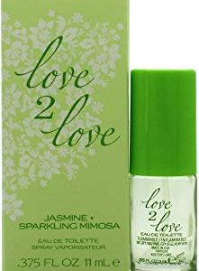 Love 2 Love Jasmine Plus Sparkling mimosa Eau de Toilette 11 ml Spray per lei