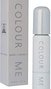 Colour Me White, Eau de Toilette spray Uomo, 50 ml