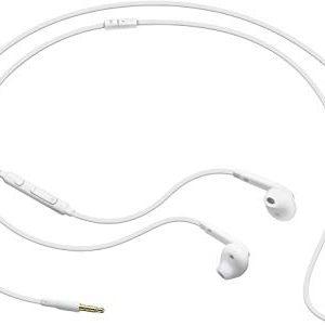 Samsung Auricolare In-Ear Fit EO-EG920BW Con Microfono, Lunghezza Cavo 120 CM, Bianco, Per Galaxy S4 S5 S6 S7 Edge Note 4 5 J1 J
