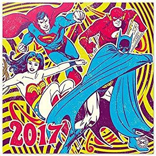 Grupo Erik Editores DC Comics Classic dcorg - Calendario 2017, 30 x 30 cm