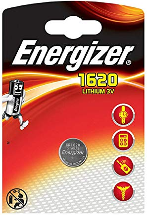 Energizer al litio 3V CR 1620 Pila a bottone