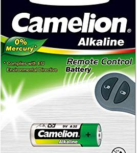 Camelion 11050132 - Plus Alkaline batterie senza mercurio LR32-A-9 Volt, 1er