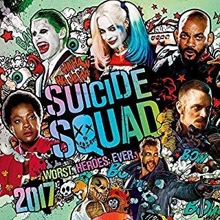 Grupo Erik Editores Suicide Squad 2 - Calendario 2017, 30 x 30 cm