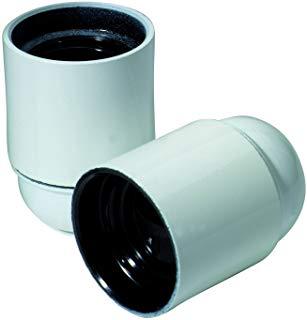Profile 790840061 Socket accessorio per illuminazione per esterni E27 Metallo Bianco