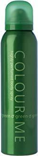 Milton-Lloyd Colour Me Green, Spray corpo, 150 ml