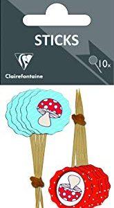 Clairefontaine-Carta decorativa, per bambini, confezione da 10 pezzi