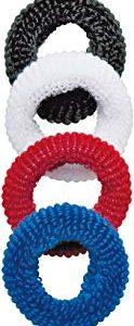 Titania elastici per capelli, in spugna, colori assortiti, 1er Pack (1 X 12 G)
