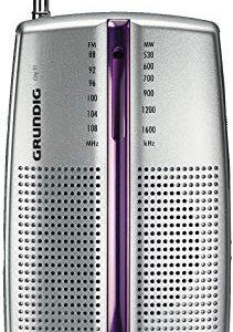 Grundig GRN0290 PR 3201 City Boy 31- Radio Portatile (Silver)