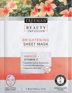Bellezza illuminante infusione ibisco e vitamina C Sheet Mask