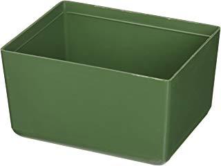 Terry Plastic V4 Vaschetta per Portaminuterie, Verde, 1Pezzo