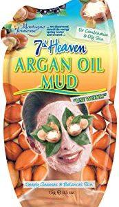 7th Heaven argan oil Face Mask, asciugatura della maschera di fango