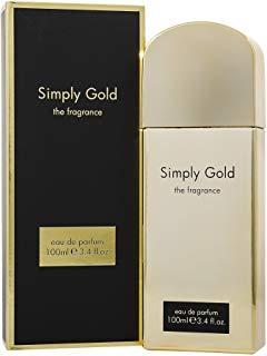 Simply Gold, eau de parfum Spray da donna, 100 ml