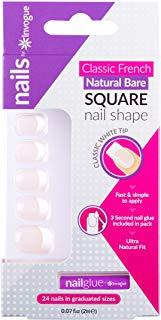 Invogue Nails - French manicure quadrato