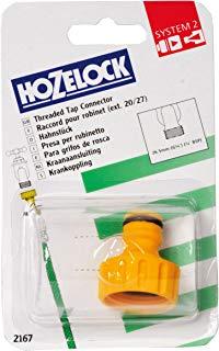 Hozelock Conector para Grifo Exterior De 3-4, Standard