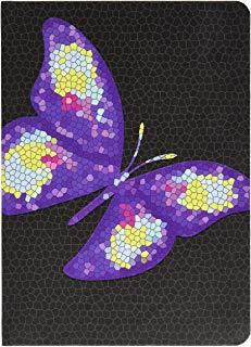Letts 16 - 030144p allievo Calendario 12 mesi A6 Tattoo, 1 settimana su 2 pagine, 2015 - 2016, Butterfly