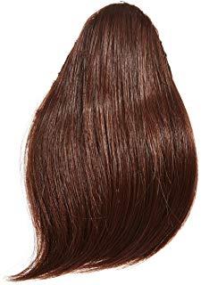 Love-Extension per capelli, resistente al calore, frangia piena Thermo fibra ottica, 33 cm, colore: rame