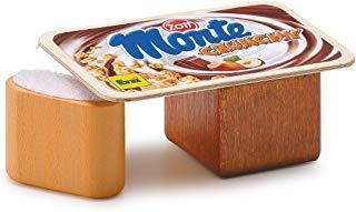 Erzi 7,0 x 4,5 x 2,9 centimetri di legno fingono il negozio di alimentari Merci Zott Monte Croccante