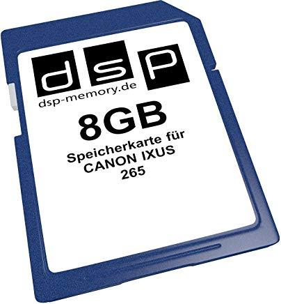 DSP Memory Z-Select 4051557425842 8 GB scheda di memoria per Canon IXUS 265