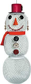 Perky-Pet Mangiatoia Pupazzo di Neve Donna, SW00354