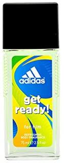 Adidas Get Ready - Deodorante naturale, confezione da 1 (1 x 75 ml)