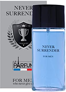 Le Parfum de France Never Surrender - Eau de Toilette da uomo, 75 ml