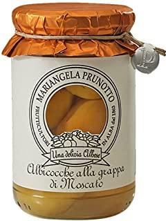 Azienda Agricola Prunotto Mariangela Albiocche alla Grappa di Moscato 320 gr