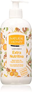 Natural Honey Lozione Extra Nutritiva per Il Corpo - 400 ml