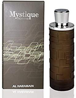 Al Haramain Perfumes Mystique Homme Eau de Parfum spray, confezione da 1