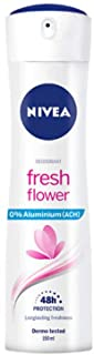 Nivea Deo Spray Fresh Flower, confezione da 6 x 150 ml