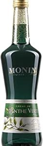 Monin Creme De Menthe Verte Liquore Menta Verde - 700 ml