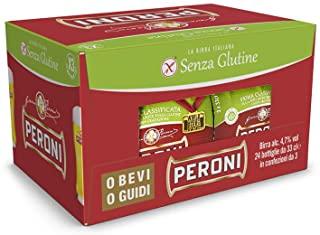 Birra Peroni Senza Glutine - Cassa da 24 x 33 cl (7.92 litri)