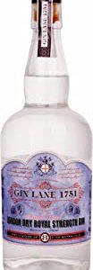 Gin Lane 1751 1751 London Dry Royal Strength Gin, 700 ml