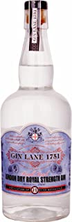 Gin Lane 1751 1751 London Dry Royal Strength Gin, 700 ml