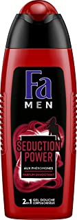 Fa Seduction Power, Gel Doccia per corpo e capelli, da uomo 250 ml