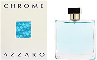 Azzaro Chrome Eau De Toilette Uomo, 100 ml