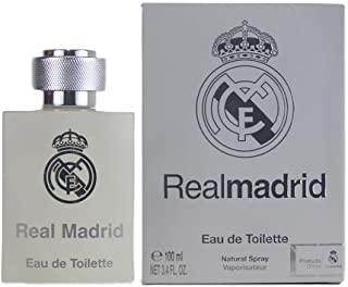 Real Madrid EAU de Toilette per Uomo, 100 ml