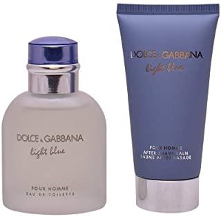 Dolce & Gabbana Light Blue Pour Homme Set Regalo Edt e Balsamo dopobarba - 75ml