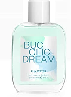 Fun Water, Bucolic Dream Deodorant Body Fragrance for Women, profumo da donna, 100 ml, confezione da 2