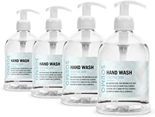 Marchio Amazon - Solimo Sapone mani per pelli sensibili (4x500ml)