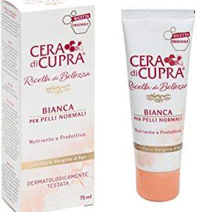 Cera di Cupra Crema Bianca Tubo, 75 ml