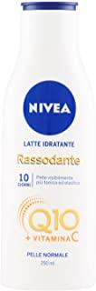 Nivea Latte Idratante Rassodante Q10 Vitamina C, Crema Corpo Pelle Normale, 2 Confezioni da 250 ml